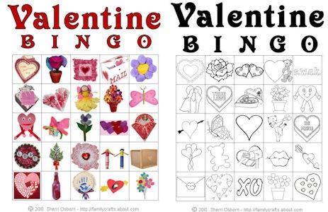 9 Heart Tastic Crafts For Kids Valentine Bingo Activity
