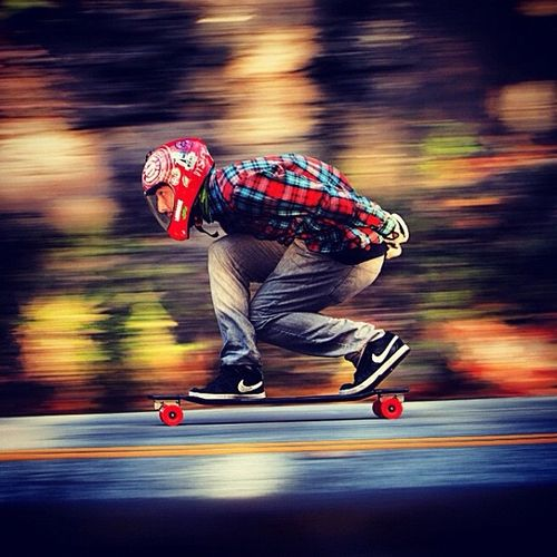 #longboarding being a racer this makes me happy.