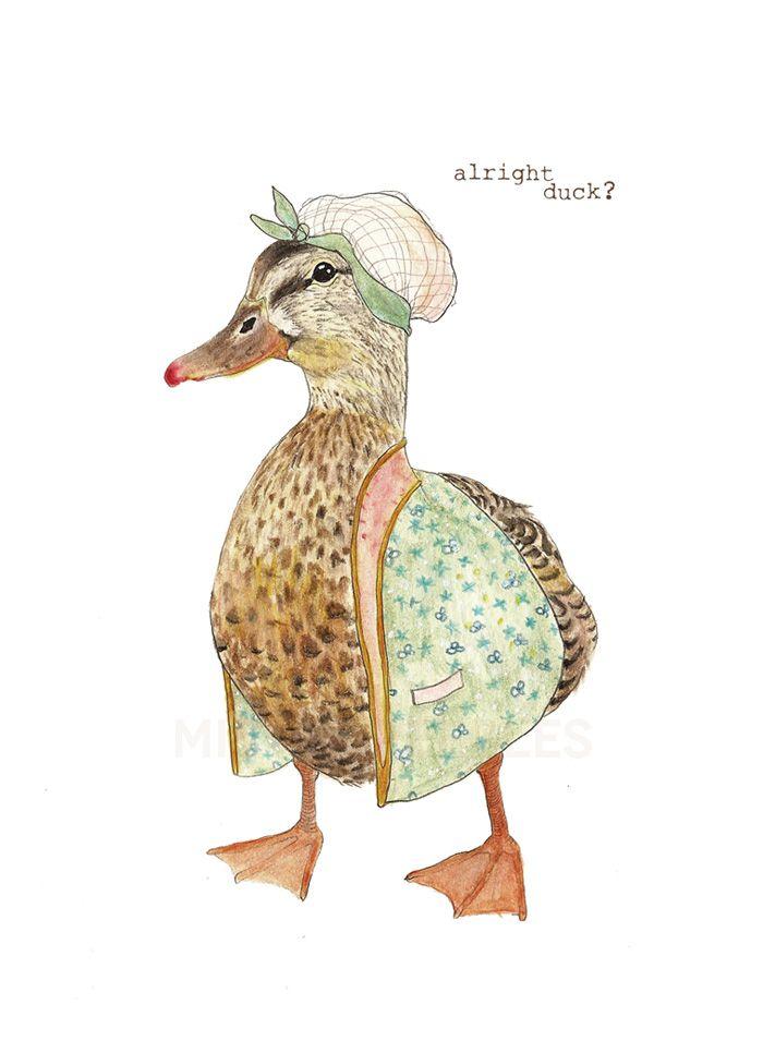 Alright Duck - Mister Peebles