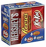 #10: Hershey's Chocolate, Variety Pack, 18 Count, 27.3 Ounce Box #groceries #ad