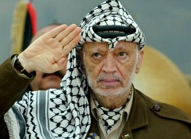 Yasser Arafat, former chairman of the Palestine Liberation Organization. The stature of a leader is not simply determined by the size of his achievements, but also by the size of the obstacles he had to overcome. In this respect, Arafat has no competitor in the world: no leader of our generation has been called upon to face such cruel tests and to cope with such adversities as he.