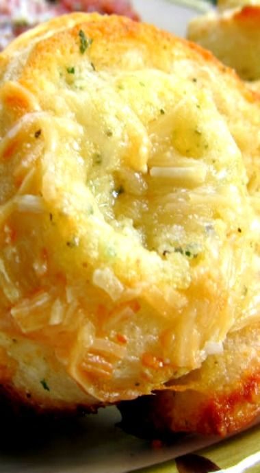 Garlic Roll Cupcakes