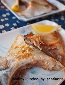 ハマチのカマの塩蒸し焼き by ぷーこさん [クックパッド] 簡単おいしい ...