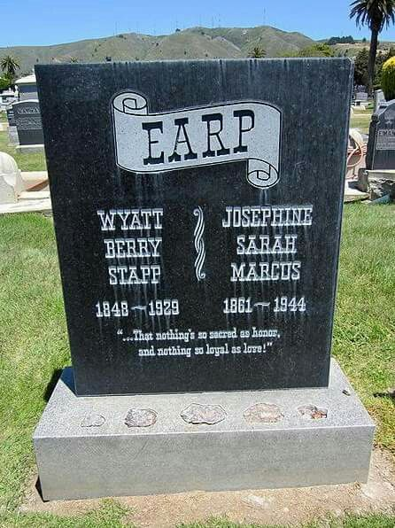 Wyatt and Josie Earp