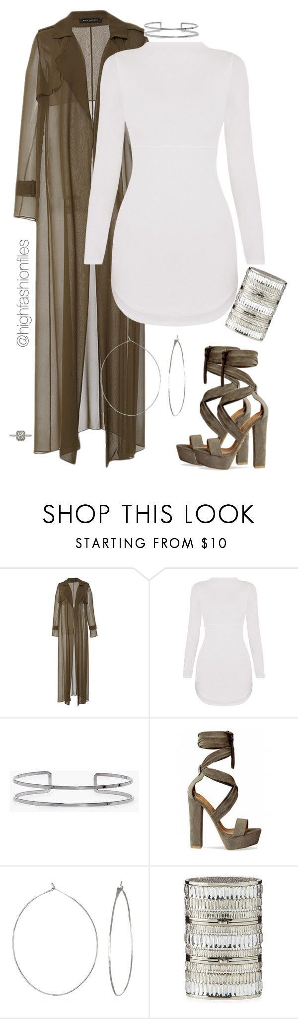 """Party Time"" by highfashionfiles ❤ liked on Polyvore featuring Sally Lapointe, Boohoo, Phyllis + Rosie, Judith Leiber and Mark Broumand"