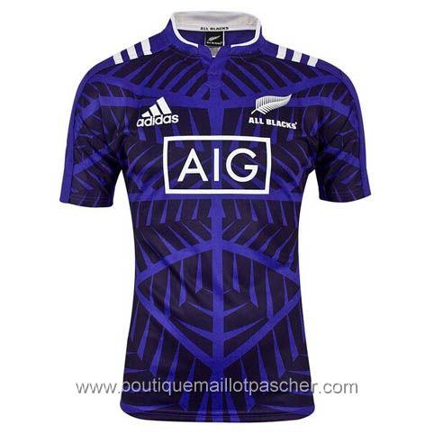 Maillot de rugby pas cher all black 2015 pourpre 28,99€