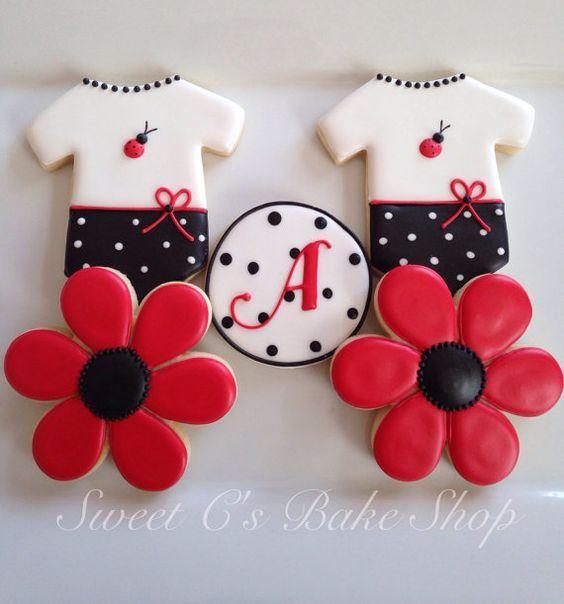biscoitos decorados ladybug - Pesquisa Google