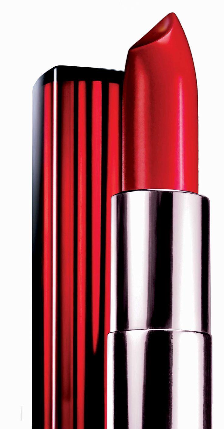 valentine red lipstick