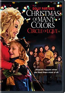 Dolly Parton's Christmas of Many Colors (DVD). Click on the cover to see if the movie is available at Freeport Community Library.