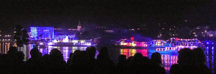 Die Donau lebt! - voestalpine Klangwolke 2014 ~ Original Linzer Schnitte
