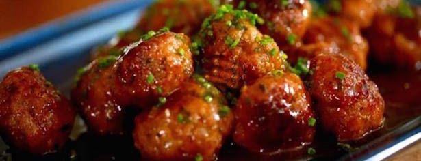 Hors-d'oeuvre de Boulettes de Porc…Sauce Aigre-Douce