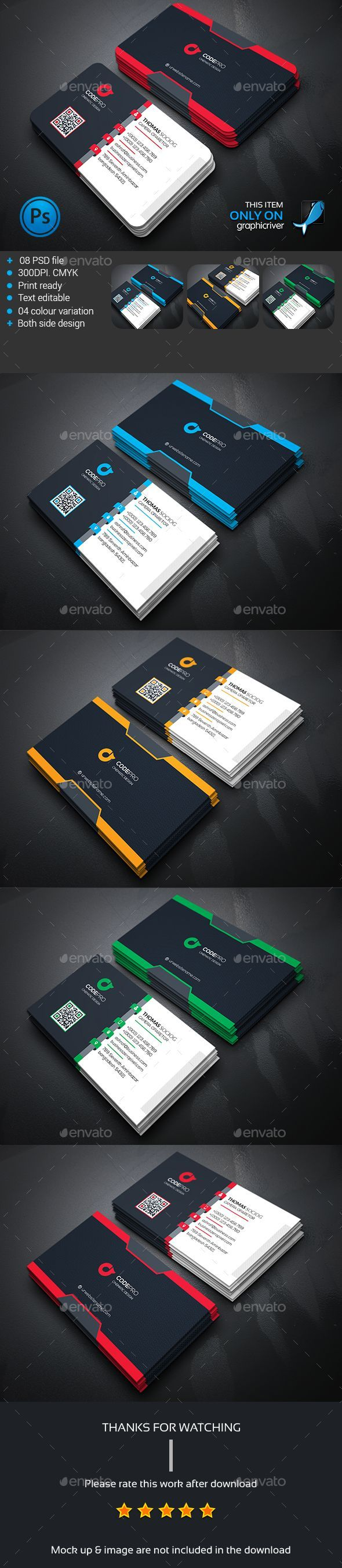 9360 best business card design images on pinterest advertising buy corporate business card by zeropixels on graphicriver features easy customizable and editable business card in with bleed cmyk color design in 300 dpi magicingreecefo Images