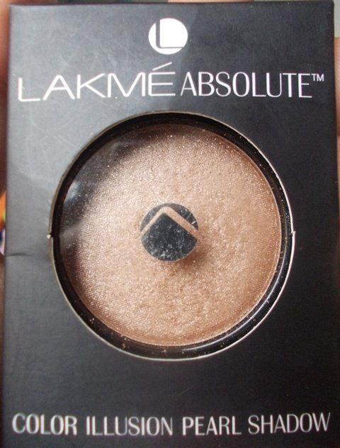 #Lakme #Absolute #Color #Illusion #Pearl #Eyeshadow #Starlight #Pearl #review #price on the blog