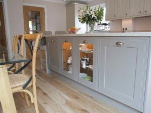 BA Components Tullymore doors used by Hallmark Kitchen Designs #Tradtional Kitchen