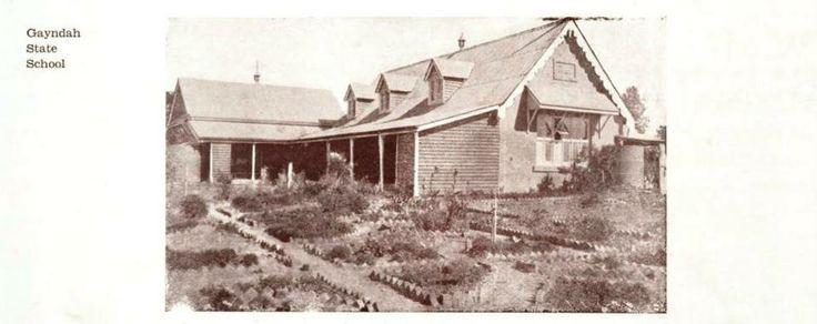 Gayndah State School 1934