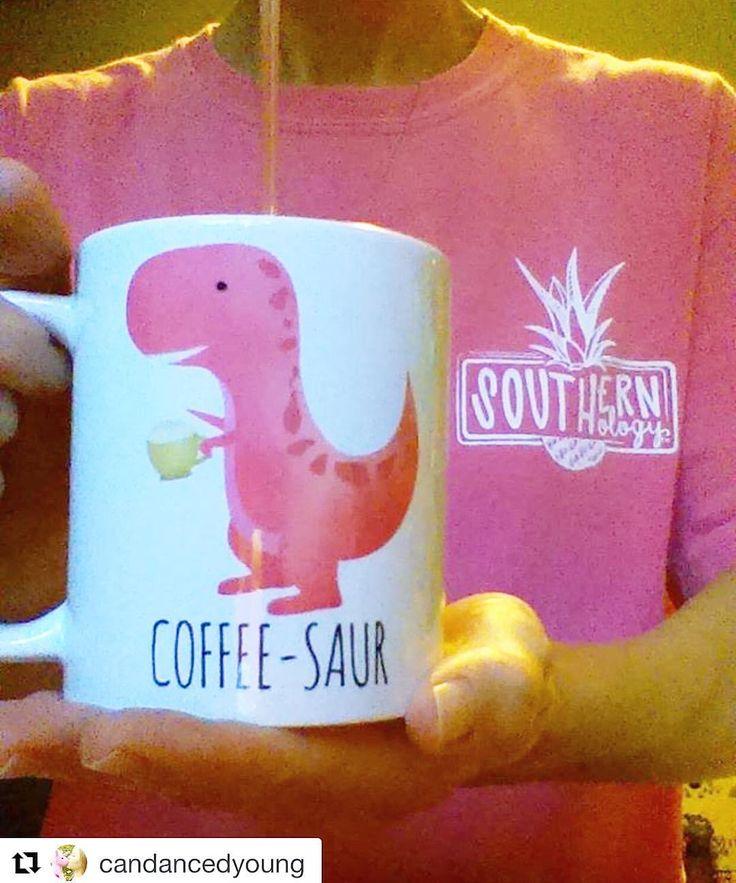 "Here's @candancedyoung with her ""Pink Coffee-saur"" Mug!   . . . . . . #coffeelover #coffee #coffeetime #coffeeaddict #coffeegram #coffeeshop #cafe #coffeelife #coffeebreak #instacoffee #coffeeholic #coffeelove #caffeine #coffeelovers #barista #coffeeoftheday #coffeemug #coffeeart #latteart #coffeecup #instagood #coffeebean #drink #cafelife #sunday #espresso #morningcoffee #blackcoffee #ilovecoffee #alittleleafy"