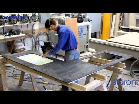 countertop installation solid surface samsung countertops brazil ...