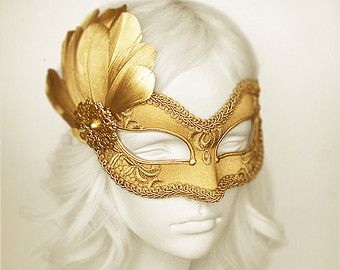 Handmade Masquerade Masks And Costume Accessories by SOFFITTA