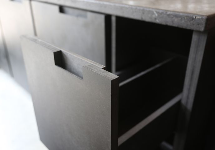 SOFT CLOSE DRAWER FOR CONDIMENT BOTTLES