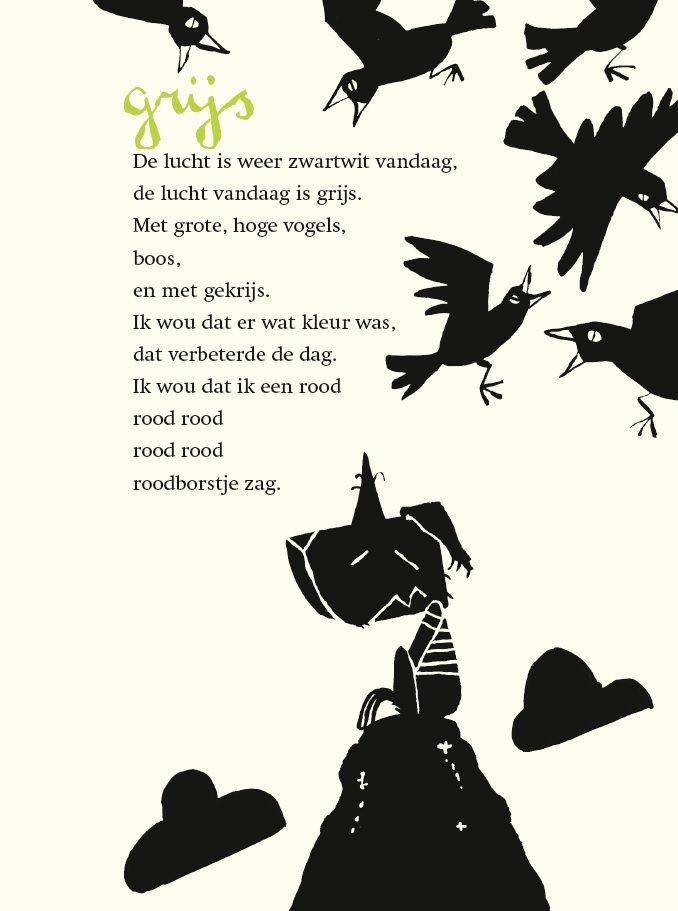 Gedicht: Grijs - Edward van de Vendel