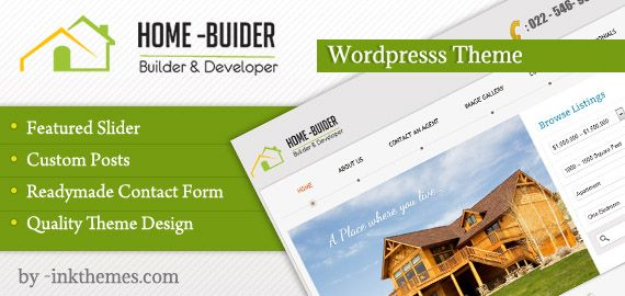 HomeBuilder – Dynamic and Smart Responsive WP Real Estate, Property Theme