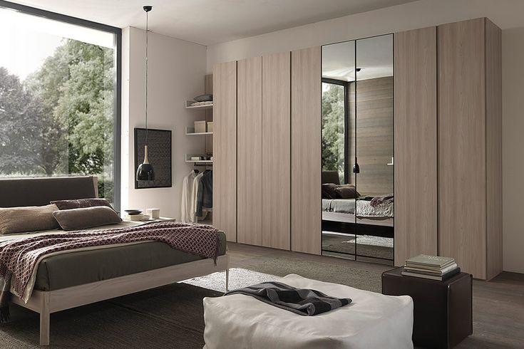 Schreibtisch Sichtschutz Ikea ~ Nuvola garderobekast met spiegeldeuren #kledingkast #spiegeldeur #