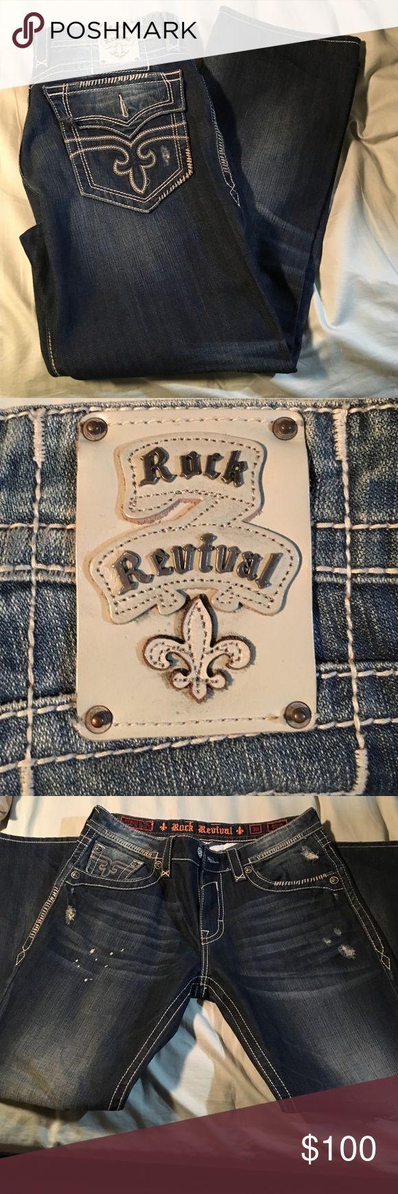 Men's rock revival jeans Like new ! Rock revival jeans Rock Revival Jeans