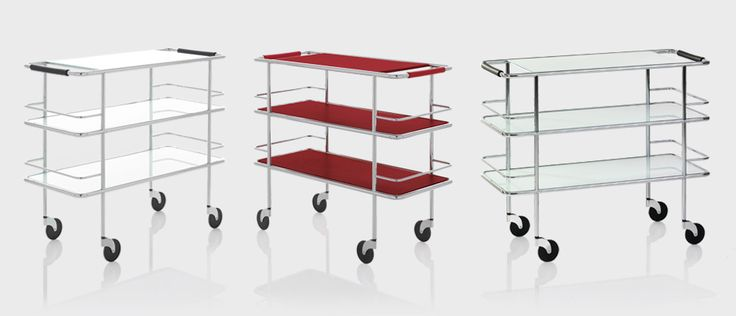 Cargo trolley, desigern Gunilla Allard | Lammhults