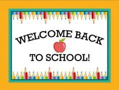 Free back to school printables labels, posters and signs