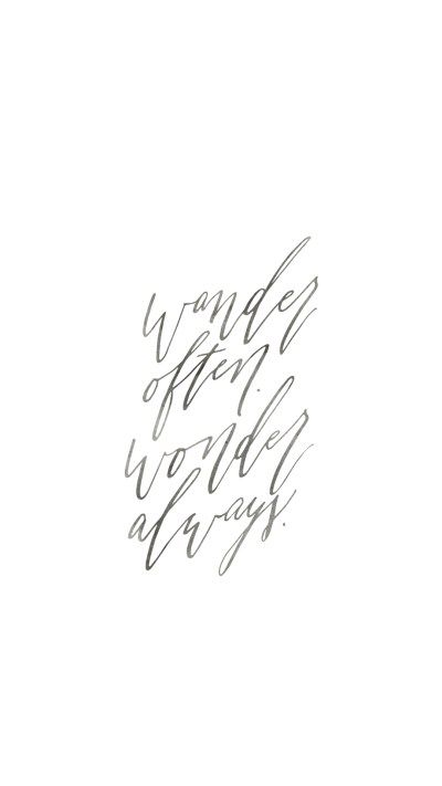 Wander Often Wonder Always by True North Paper Company | FREE Desktop Background Wallpaper Mobile Screensaver | Wallpaper Wednesday | Bon Paper House & True North Paper Company