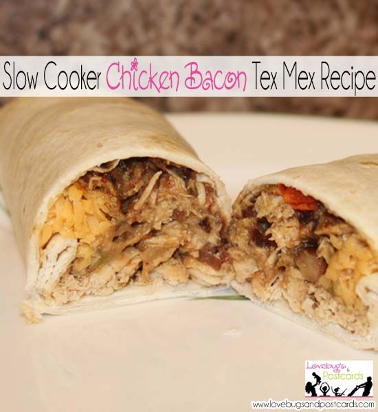 Slow Cooker Chicken Bacon Tex Mex Recipe | Coupon deals, Utah and ...