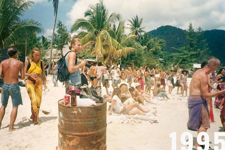 Full Moon Party History - Thai party for Me