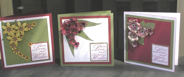 3 Australia Floral cards
