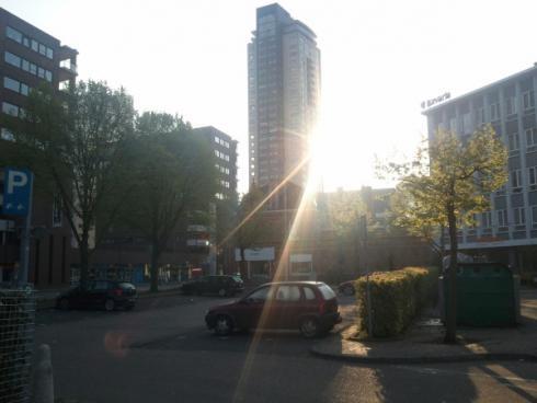 """""""Na Regent komt zonneschijn"""". Foto: Tim Vergeer."""