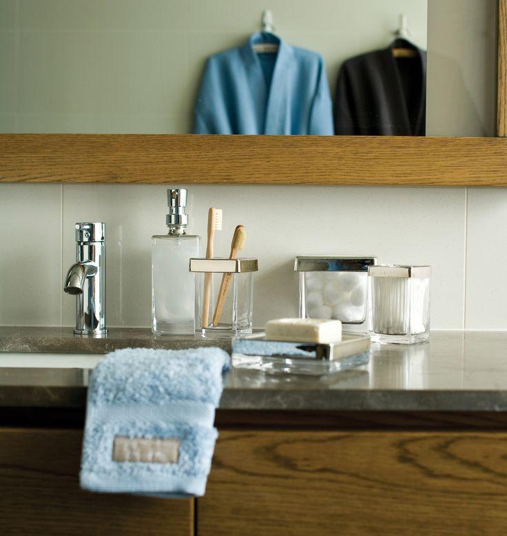 chic accessories are bathroom storage essentials