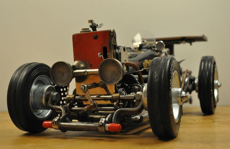Singer racing car - www.artbypeo.com