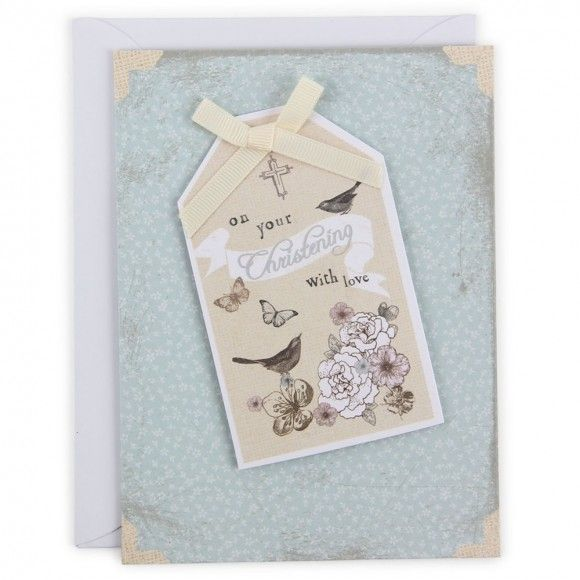 8 best christening images on pinterest card sentiments christening tag card m4hsunfo