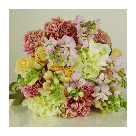 Vintage Pastel Bouquet by Bestow