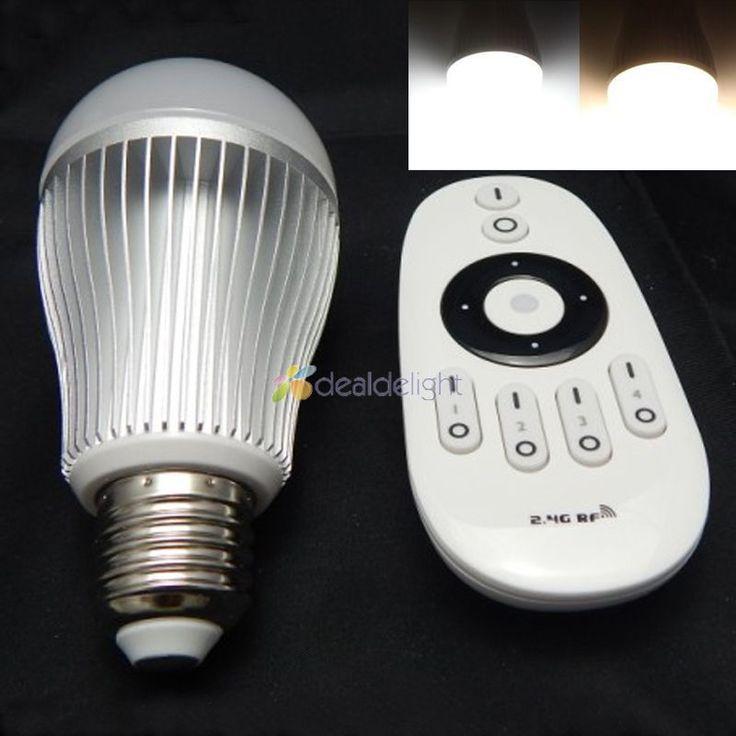 $21.50 (Buy here: https://alitems.com/g/1e8d114494ebda23ff8b16525dc3e8/?i=5&ulp=https%3A%2F%2Fwww.aliexpress.com%2Fitem%2FMi-Light-2-4G-9W-E27-Wireless-CW-WW-Dual-White-LED-Bulb-Light-Lamp-Color%2F32315620297.html ) Mi-Light 2.4G 9W E27 Wireless CW/WW Dual White LED Bulb Light Lamp Color temp Adjust + 4-zone Wireless Remote for just $21.50