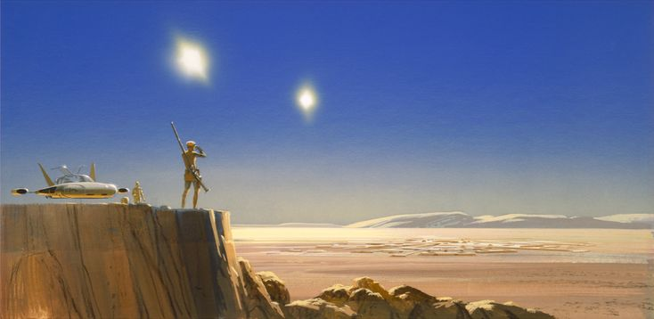 AN ANNOTATED GUIDE TO THE STAR WARS PORTFOLIO BY RALPH MCQUARRIE