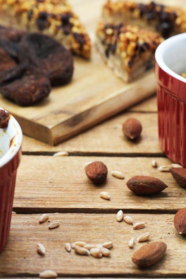 Gesunde Nussecken mit Marzipan – zuckerfrei und vegan mit Clean Eating