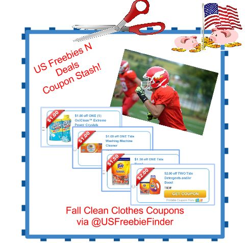 USA Freebies N Deals: 4 NEW US Clean Clothes #Coupons! Sept.8 ![ad]