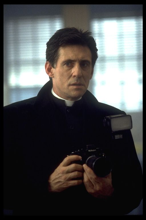 It may be wrong but I have a serious thing for priests..especially when they look like Gabriel Byrne ;)