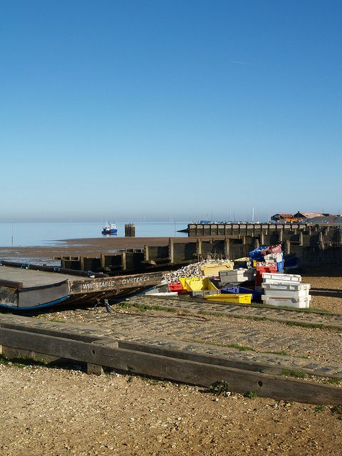The beach front at Whitstable