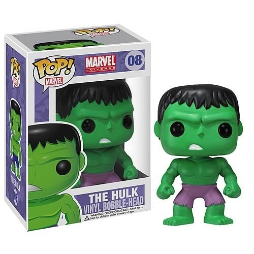 This Incredible Hulk Pop! Heroes vinyl figure stands approximately 3-3/4-inches tall and is an officially licensed Marvel Universe collectible from Marvel Comics. This adorable collectible figure is the perfect gift for any Marvel Universe fan and collector!