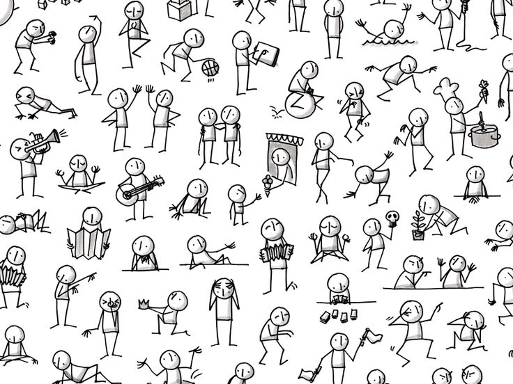People stick figure