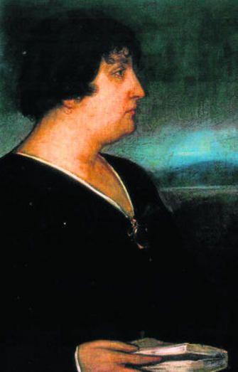Julio Romero de Torres realizó en 1917 una pintura de Carmen de Burgos