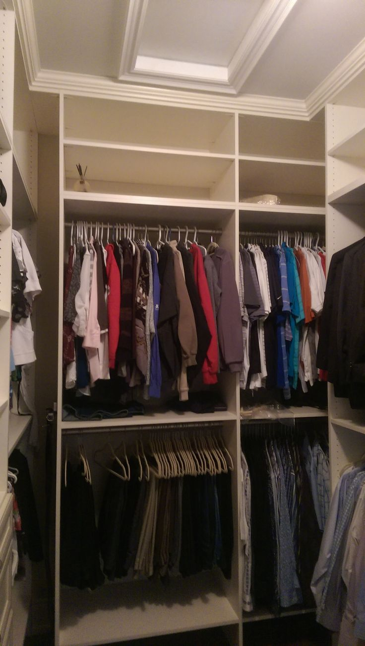 Hang your pants, shirts and suits to keep them wrinkle free!