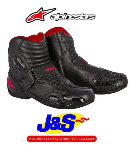 ALPINESTARS SMX 1.1 BIKE BOOTS MOTORCYCLE ANKLE BOOT BLACK/ RED J&S (EURO 44/ UK 10) - http://www.biketrade.co.uk/?product=alpinestars-smx-1-1-motorcycle-boots-motorbike-ankle-boot-black-red-js-euro-44-uk-10
