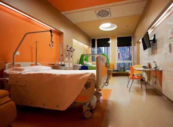 Reparto pediatria dell'ospedale di Parma